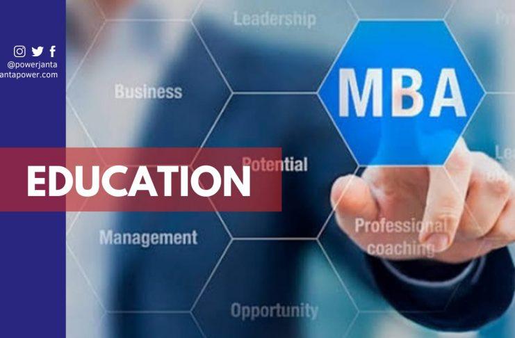 MBA degree program