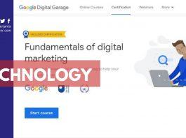 Digital Marketing Google Course